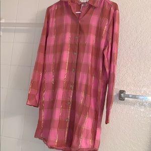 Victoria Secret flannel dress/gown